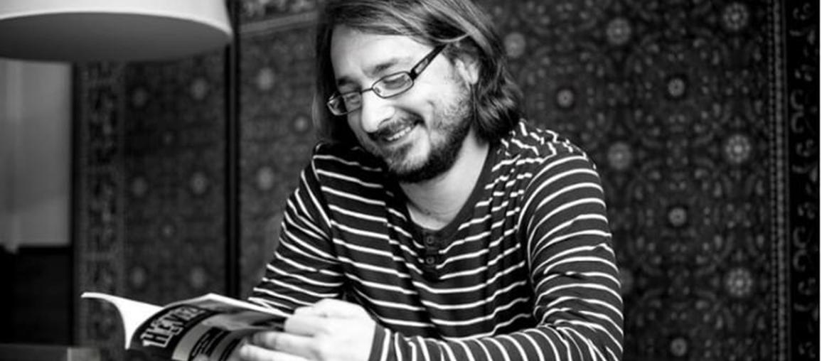 Cserna-Szabó András, az egyik Vylyan novella szerzője