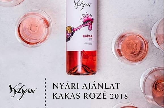 Vylyan Kakas Rozé 2018 nyári akció